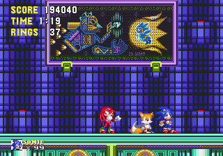 Sonic 3 Complete - Battle  - There